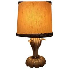Seguso Table Lamp Murano Glass, 1930, Italy