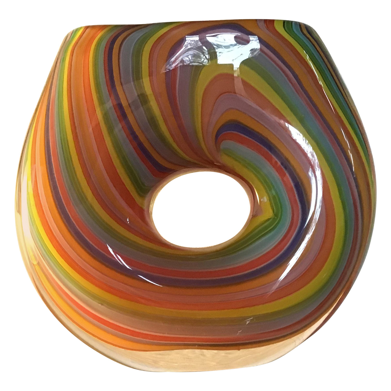 Seguso Vase 1955 Murano Glass, Italy