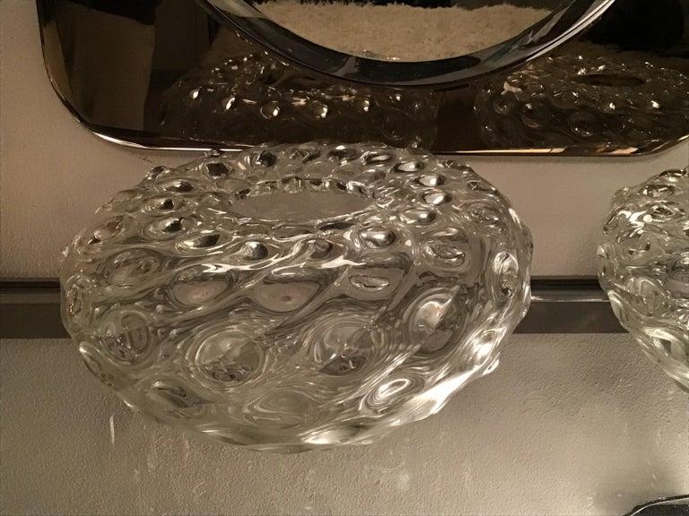 Seguso vase Murano glass 1950 Italy.