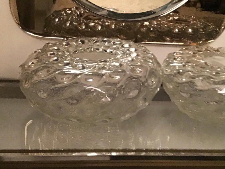 Seguso Vase Murano Glass 1950 Italy For Sale 1