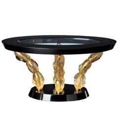 Seguso Vetri d'Arte Amaris Coffee Table Murano Glass