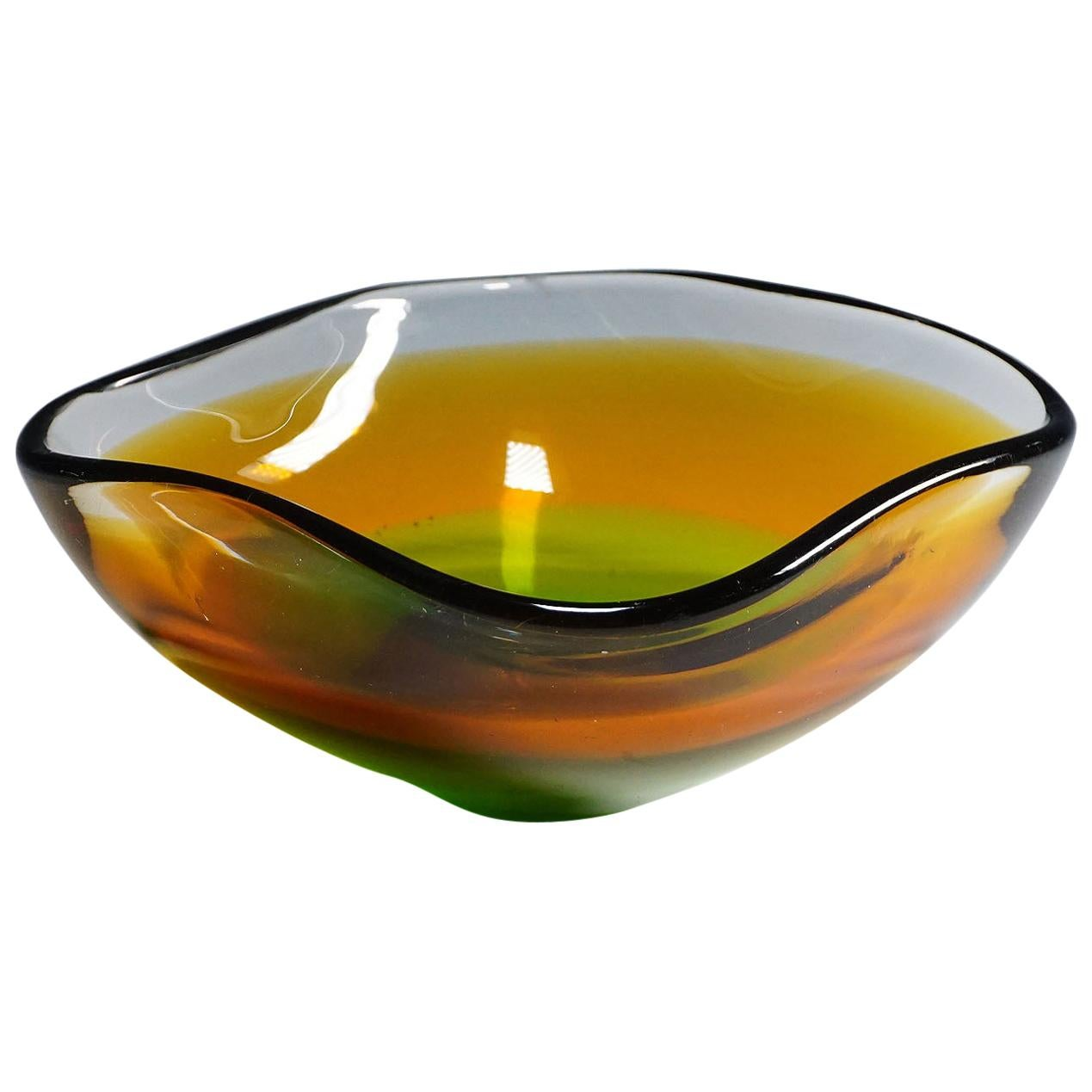 Seguso Vetri d'Arte 'Attributed' Murano Art Glass Bowl, 1950s