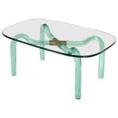 "Seguso ""Vetri d'Arte"" Coffee Table"
