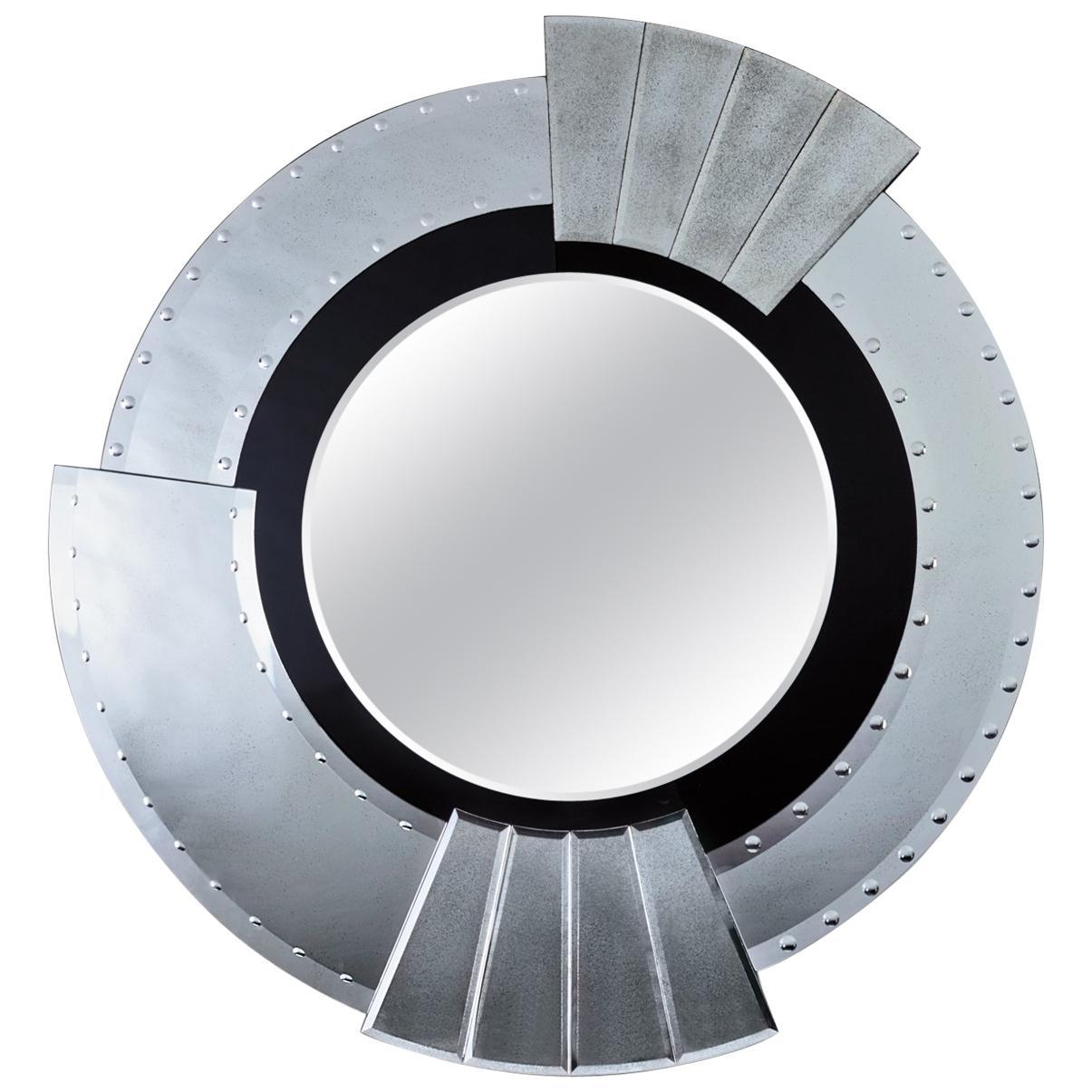 Seguso Vetri d'Arte Maravege Mirror Murano Glass