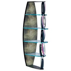 Seguso Vetri d`Arte Marciana Bookshelf Murano Glass