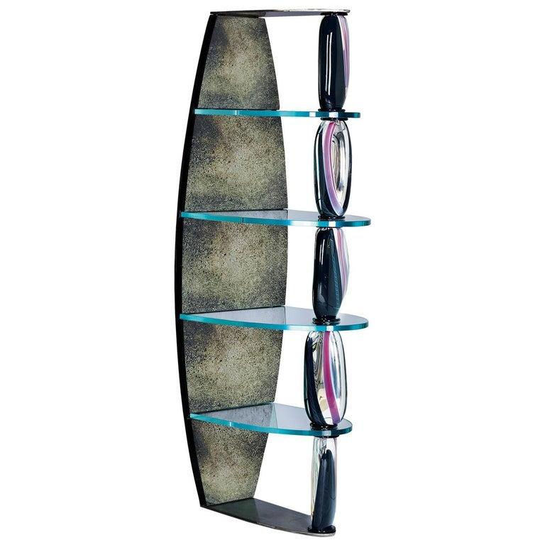 018dc7adc3dd Seguso Vetri d`Arte Marciana Bookshelf Murano Glass For Sale at 1stdibs
