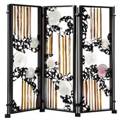 Seguso Vetri d'Arte Murano Glass Bacan Screen/Room Divider