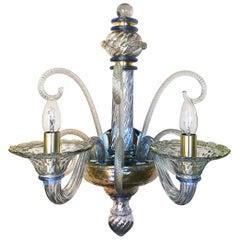 Seguso Vetri d'Arte Murano Glass Museo Sconce