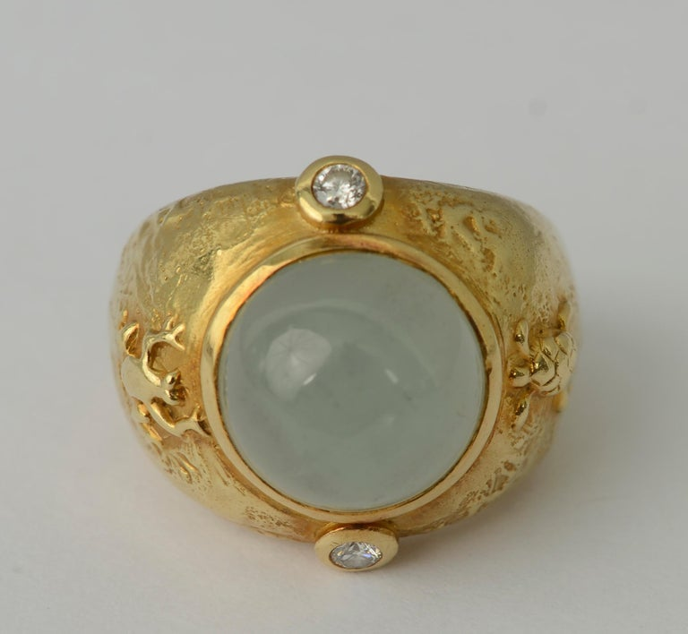 Seidengang Aquamarine Ring In Excellent Condition In Darnestown, MD