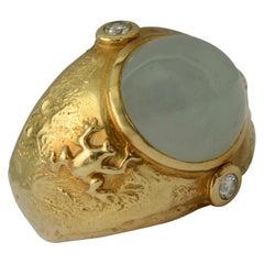 Seidengang Aquamarine Ring
