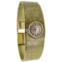 Seiko 14k Gold Wrist Watch