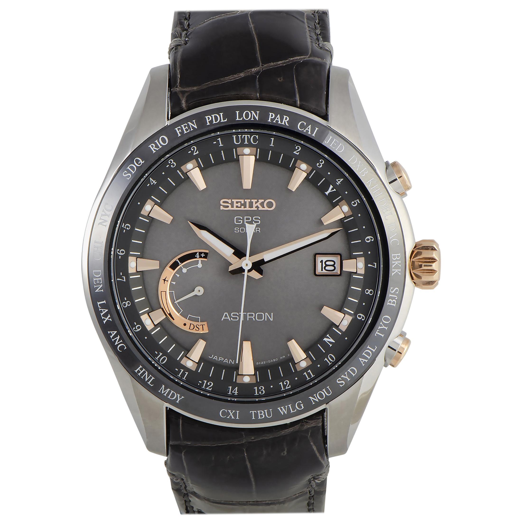 Seiko Astron GPS Solar Watch SSE095