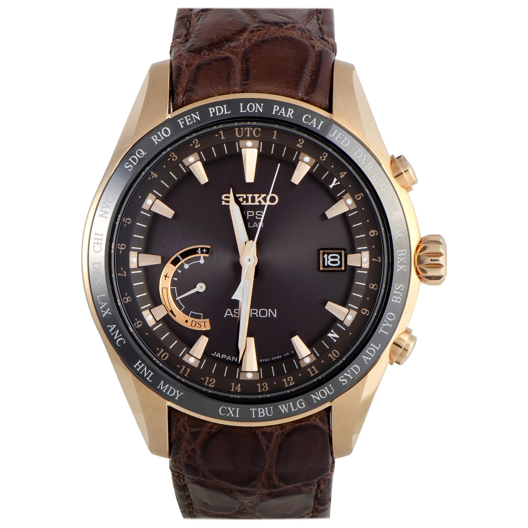 Seiko Astron GPS Solar Watch SSE096