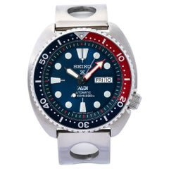 Seiko Divers 4R36-05hO, Blue Dial, Certified and Warranty