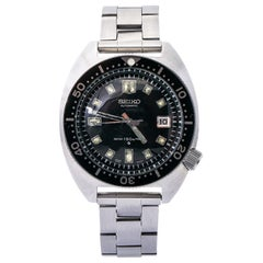 Seiko Diver's 6105-8000 Automatic Vintage Men's Watch Year1969 SS