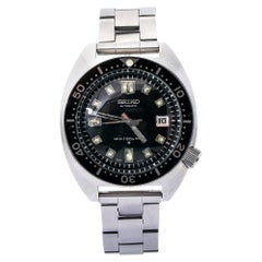 Seiko Divers 6105-8000, Black Dial, Certified and Warranty