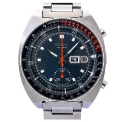 Seiko Pogue 6139-6005, Blue Dial, Certified and Warranty