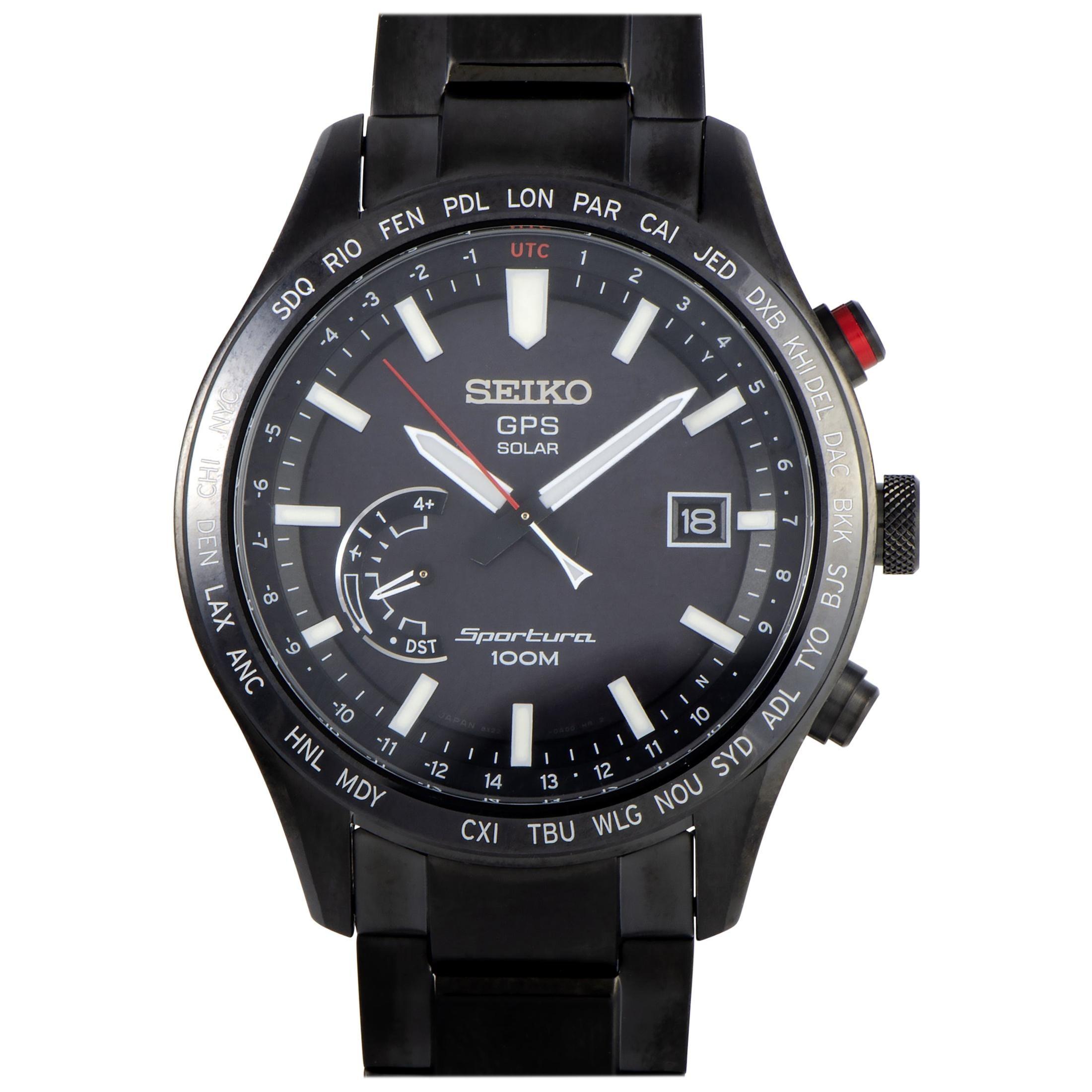 Seiko Sportura GPS Solar Watch SSF005
