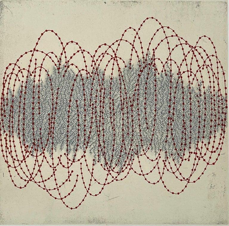 Seiko Tachibana Abstract Print - fractal-ssi-4a