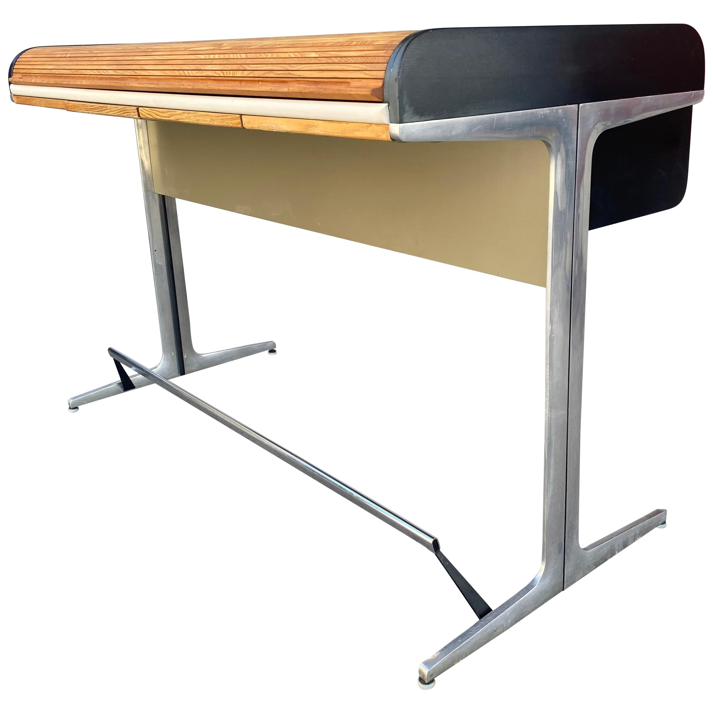 """Seldom Seen George Nelson """"HIGH' Action Office Architects Desk, Herman Miller"""