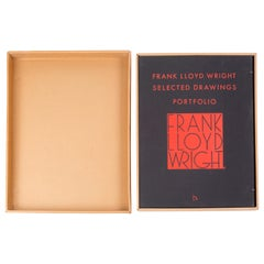 Selected Drawings Portfolio by Frank Lloyd Wright, Volume 1, Edition 201/500