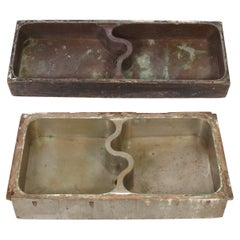 Selection of 1930s Industrial Art Deco Sinks Attributed to Donald Deskey
