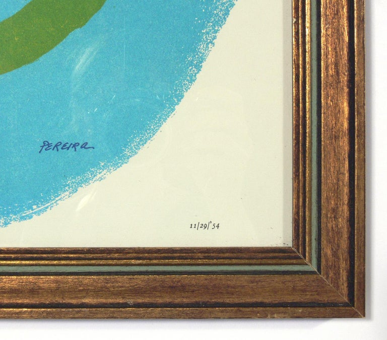French Selection of Abstract Modern Lithographs or Gallery Wall For Sale