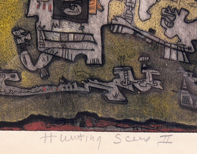 Selection of Abstract Modern Lithographs or Gallery Wall In Good Condition For Sale In Atlanta, GA