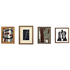 Selection of Abstract Modern Lithographs or Gallery Wall