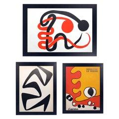 Selection of Alexander Calder Lithographs