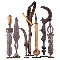 Selection of Authentic Kongo Knives