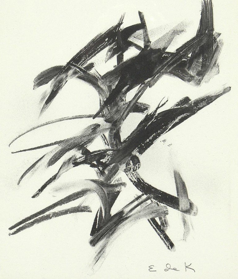 Selection of Black and White Abstract Artwork For Sale 1