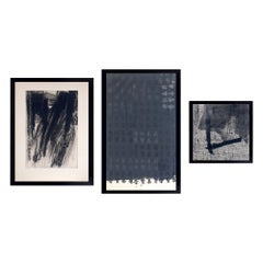 Selection of Black and White Abstract Prints