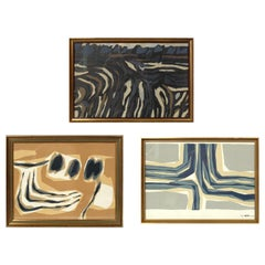 Selection of Color Lithographs or Gallery Wall by Raoul Ubac