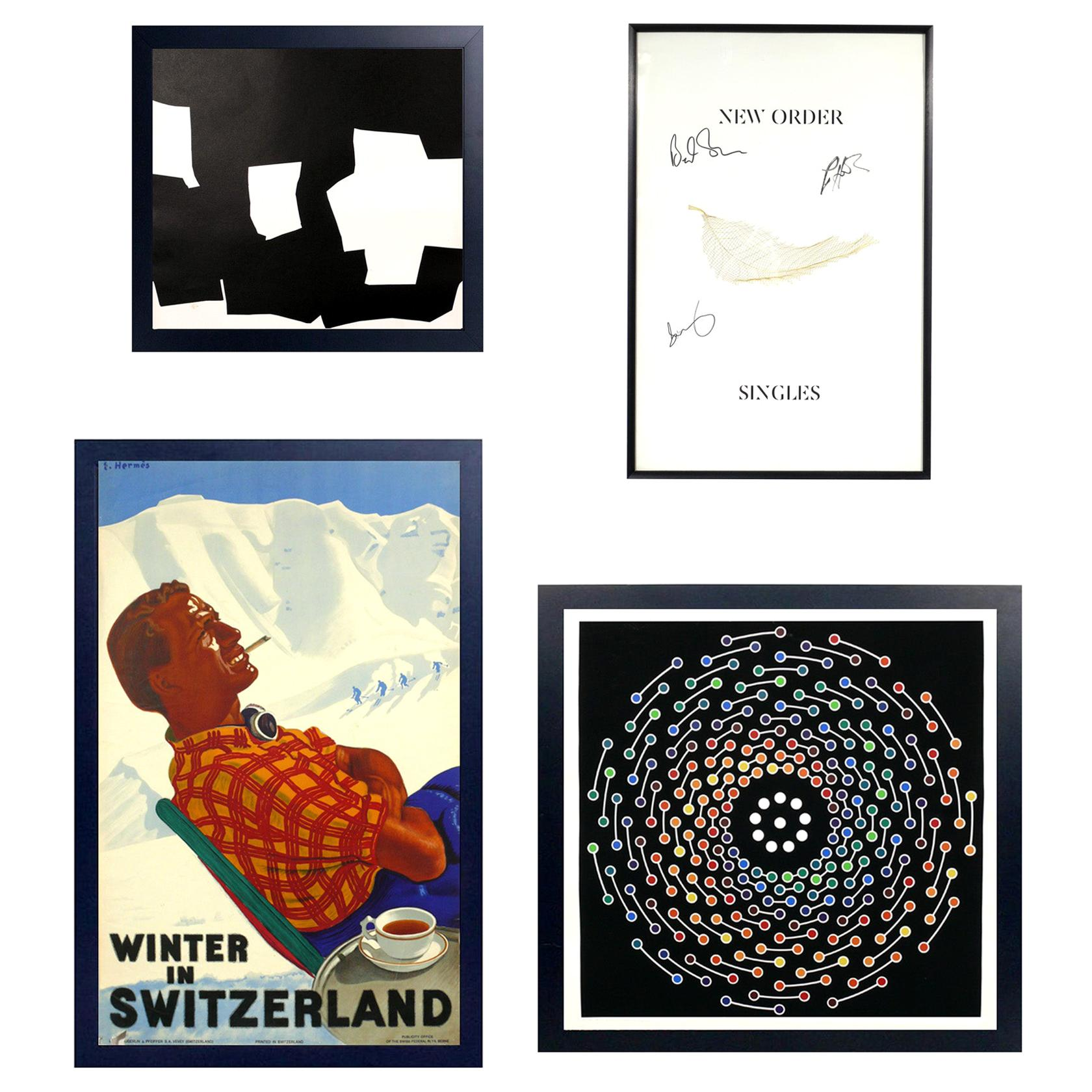Selection of Color Modern Lithographs and Silkscreens