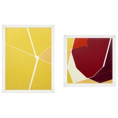 Selection of Colorful Abstract Lithographs by Pablo Palazuelo