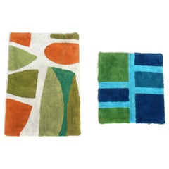 Selection of Graphic Midcentury Rugs