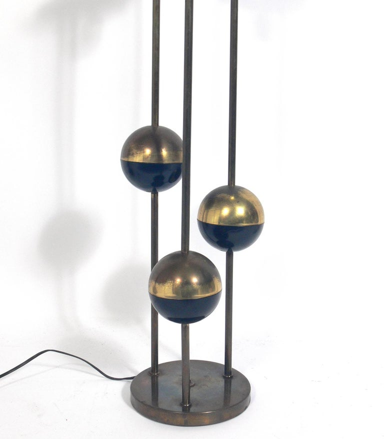 Selection of Italian Midccentury Lamps In Distressed Condition For Sale In Atlanta, GA