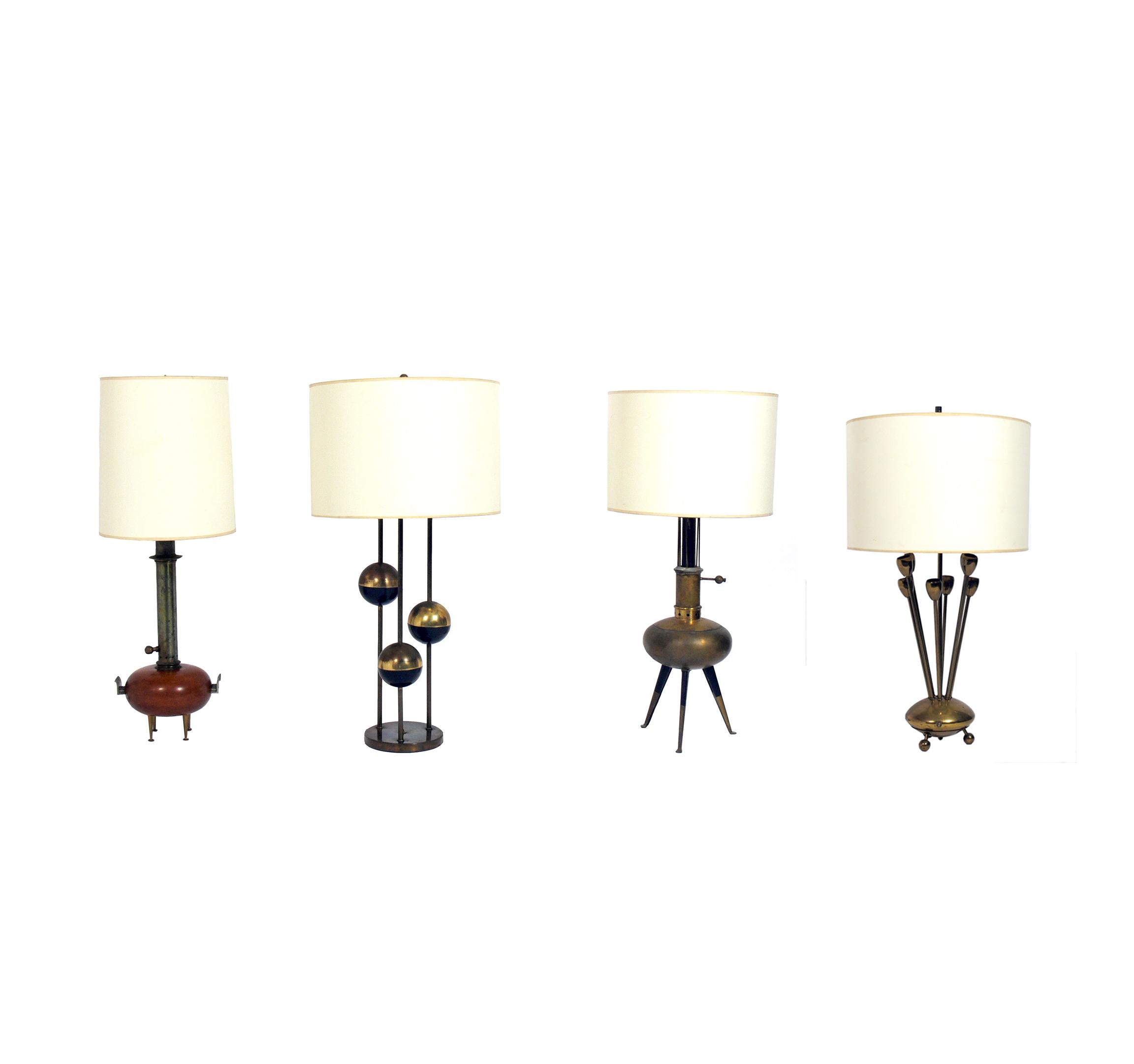 Selection of Italian Midccentury Lamps