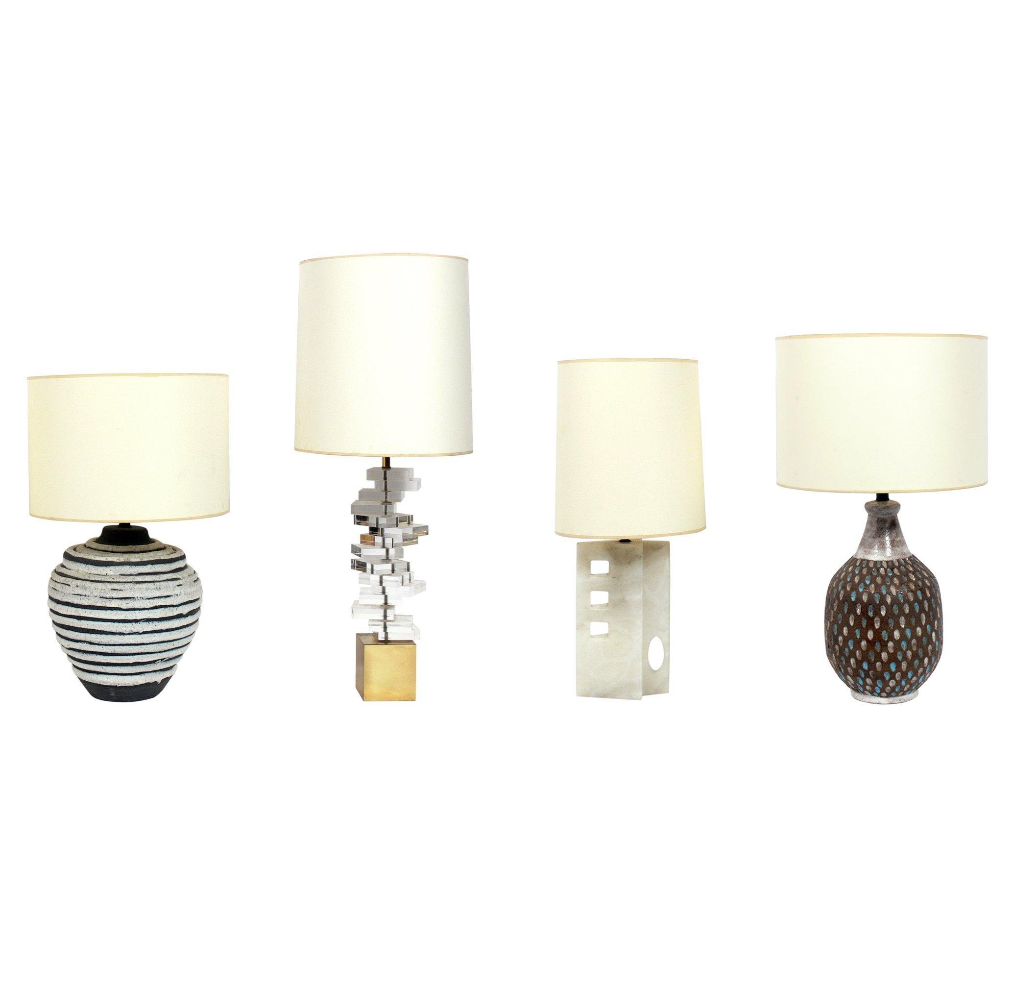 Selection of Midcentury Italian Lamps