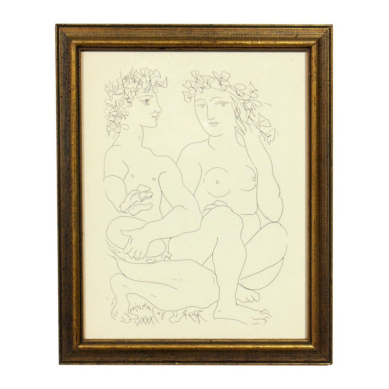 French Selection of Modernist Art or Gallery Wall For Sale