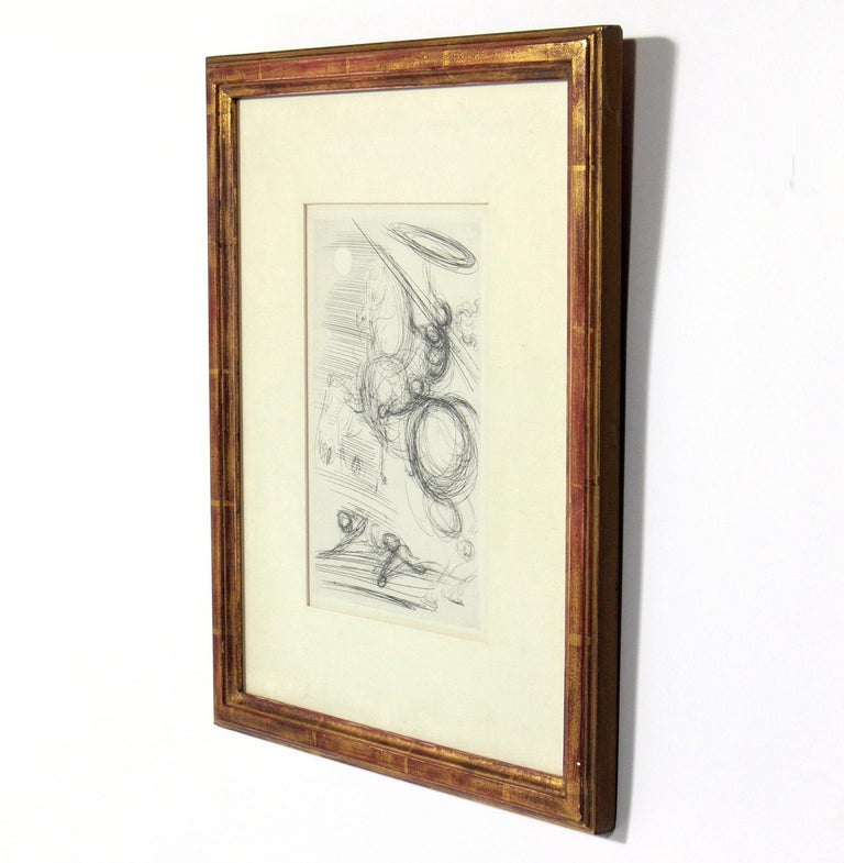 Gilt Selection of Modernist Art or Gallery Wall For Sale
