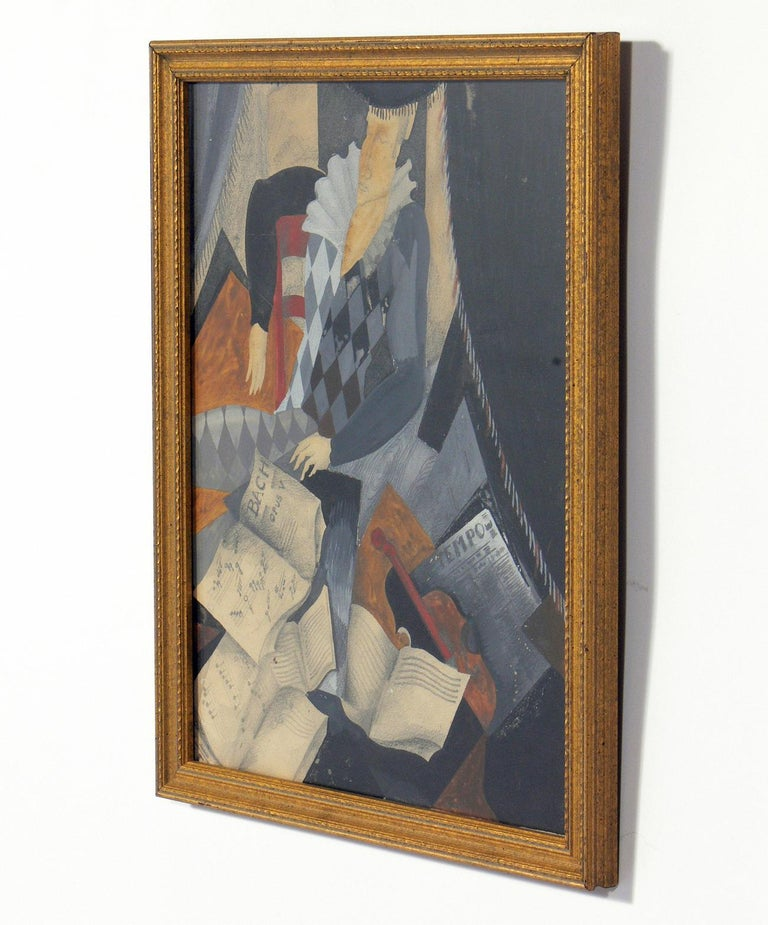 Wood Selection of Modernist Art or Gallery Wall For Sale