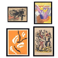 Selection of Modernist Art or Gallery Wall