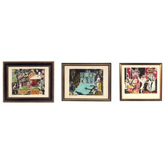 Selection of Modernist French Lithographs