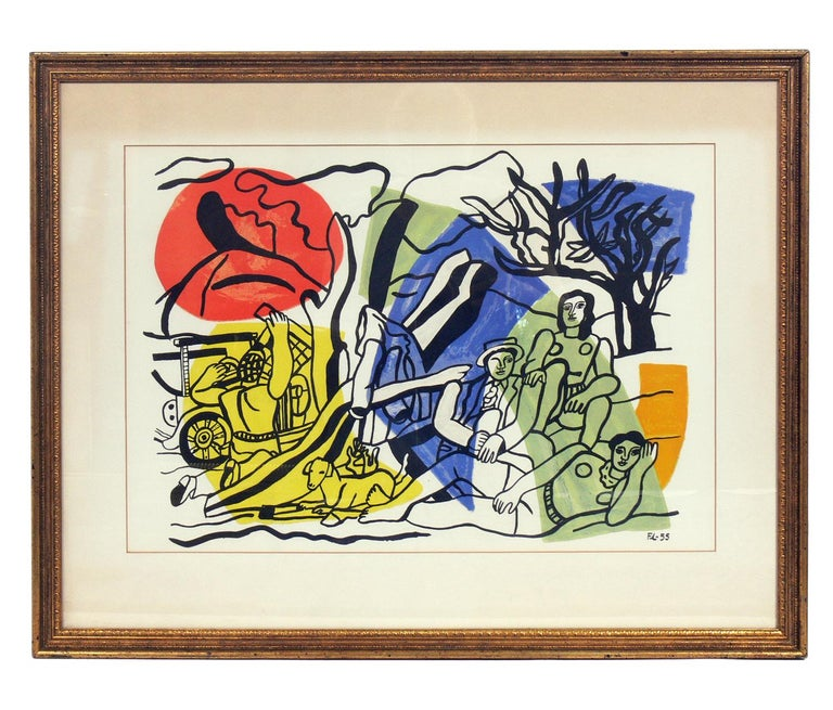 Mid-20th Century Selection of Modernist Lithographs For Sale