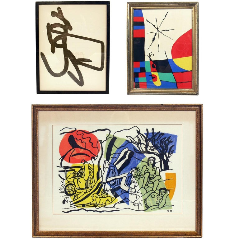 Selection of Modernist Lithographs For Sale