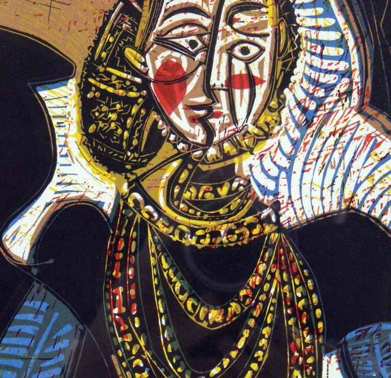 French Selection of Pablo Picasso Portrait Lithographs For Sale