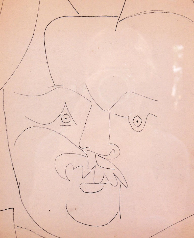 Mid-20th Century Selection of Pablo Picasso Portrait Lithographs For Sale