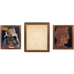 Selection of Pablo Picasso Portrait Lithographs